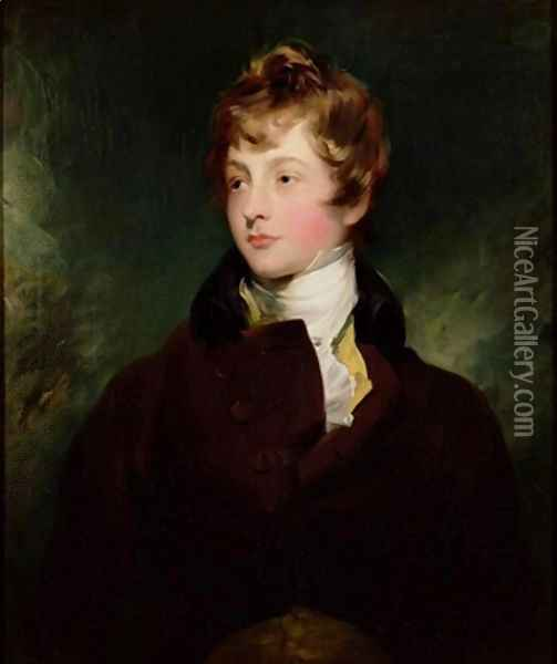 Portrait of Edward Impey 1785-1850 Oil Painting - Sir Thomas Lawrence