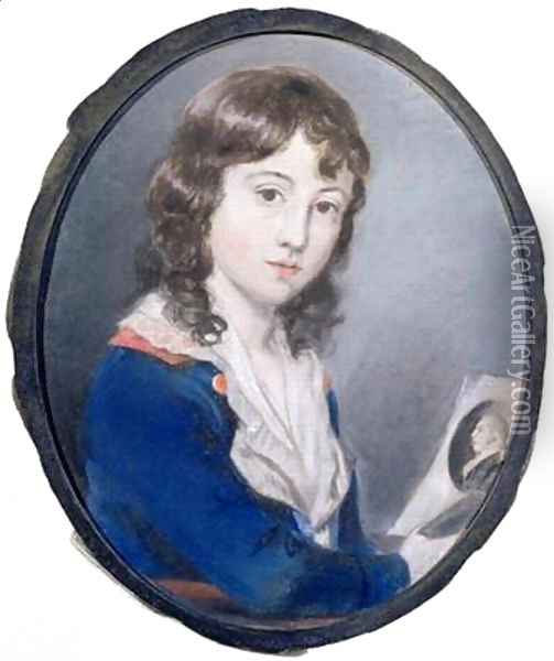 Self Portrait 3 Oil Painting - Sir Thomas Lawrence