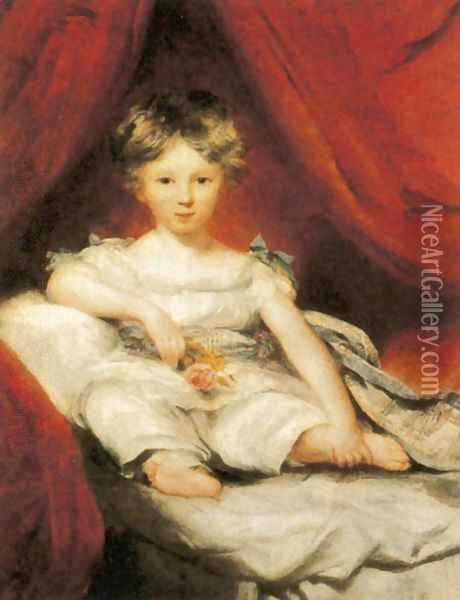 Portrait of Master Ainslie Oil Painting - Sir Thomas Lawrence