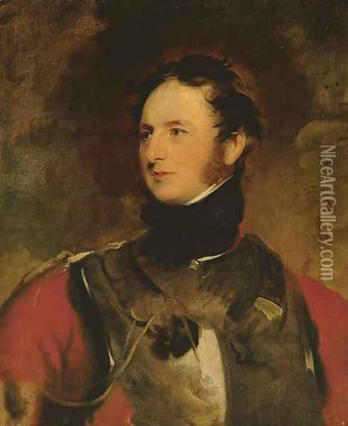 Portrait of Charles William Stewart, Third Marquess of Londonderry, K.G., K.B., M.P. (1778-1854) Oil Painting - Sir Thomas Lawrence
