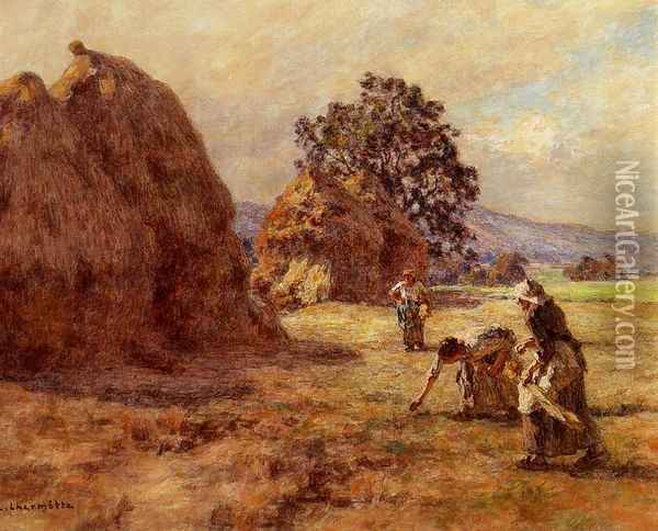 The Gleaners I Oil Painting - Leon Augustin Lhermitte