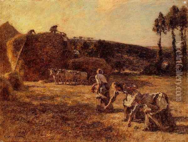The Gleaners 2 Oil Painting - Leon Augustin Lhermitte