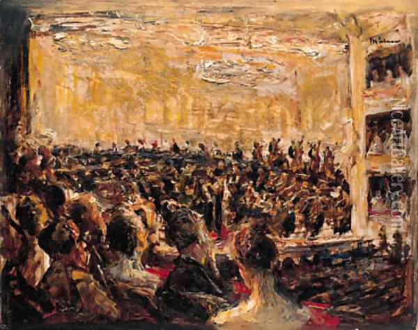 Konzert in der Oper Oil Painting - Max Liebermann