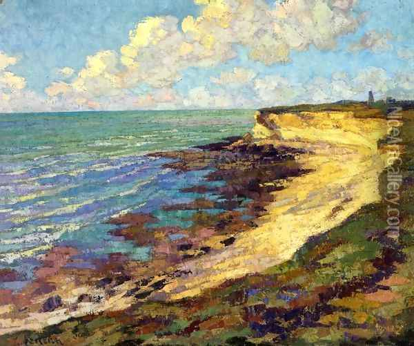 By the Sea Oil Painting - Gustave Loiseau