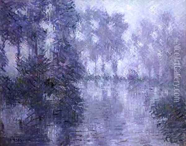 The Banks of the Eure Oil Painting - Gustave Loiseau