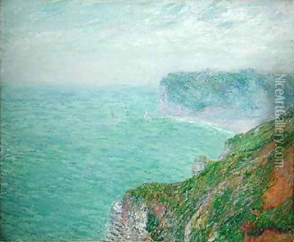 The Cliffs at Fecamp 1920 2 Oil Painting - Gustave Loiseau