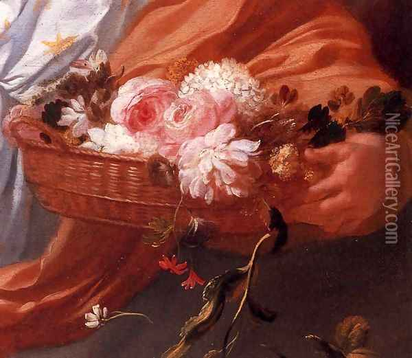 Apollo and Aurora (detail) Oil Painting - Gerard de Lairesse