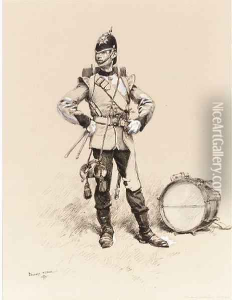 Tambour, Infanterie Anglaise; An