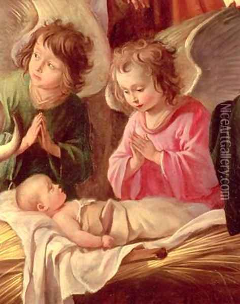 Adoration of the Shepherds Oil Painting - Mathieu Le Nain