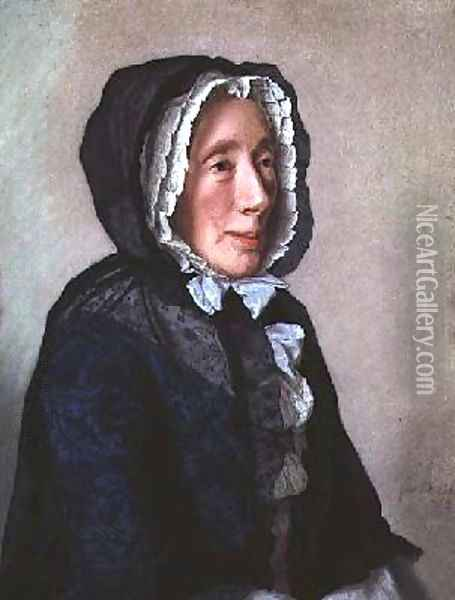 Portrait of Madame Tronchin 1758 Oil Painting - Etienne Liotard