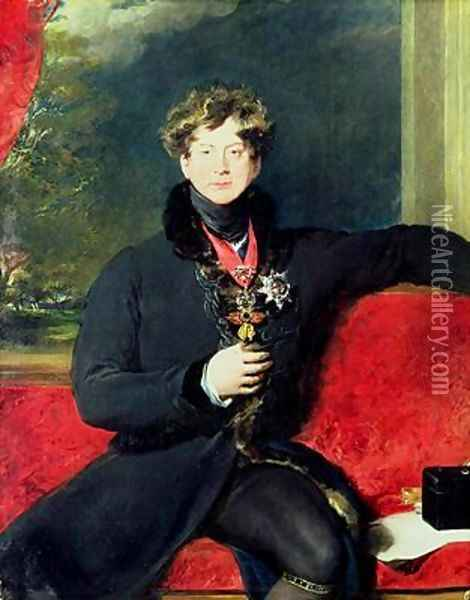 Portrait of King George IV 1762-1830 Oil Painting - Sir Thomas Lawrence