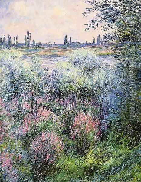 A Spot On The Banks Of The Seine Oil Painting - Claude Oscar Monet