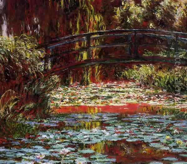 The Bridge Over The Water Lily Pond2 Oil Painting - Claude Oscar Monet