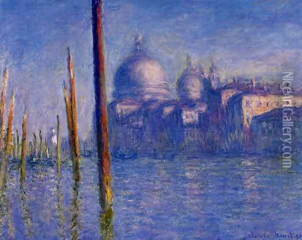 The Grand Canal Venice Oil Painting - Claude Oscar Monet