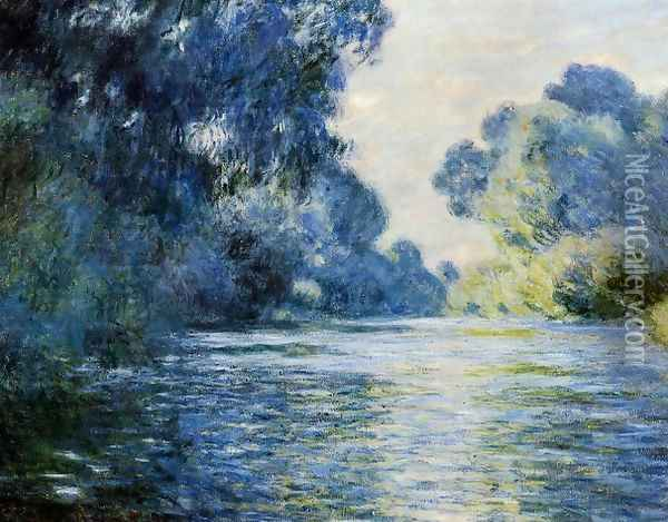 Arm Of The Seine At Giverny Oil Painting - Claude Oscar Monet