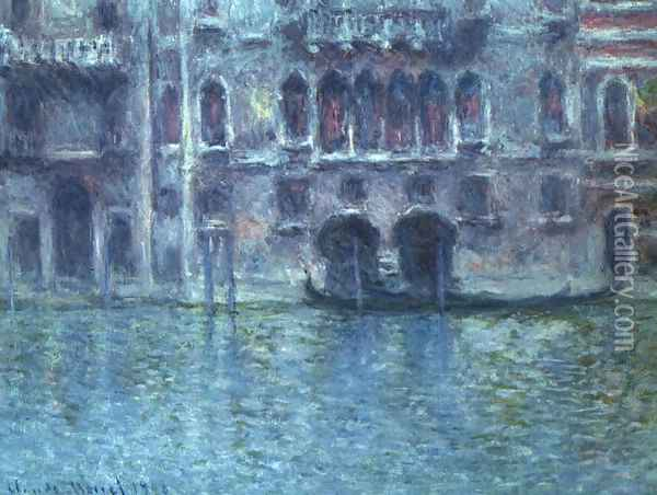 Palazzo da Mula at Venice Oil Painting - Claude Oscar Monet