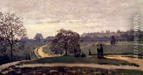 Hyde Park, London Oil Painting - Claude Oscar Monet