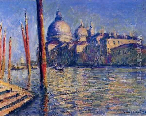The Grand Canal And Santa Maria Della Salute Oil Painting - Claude Oscar Monet