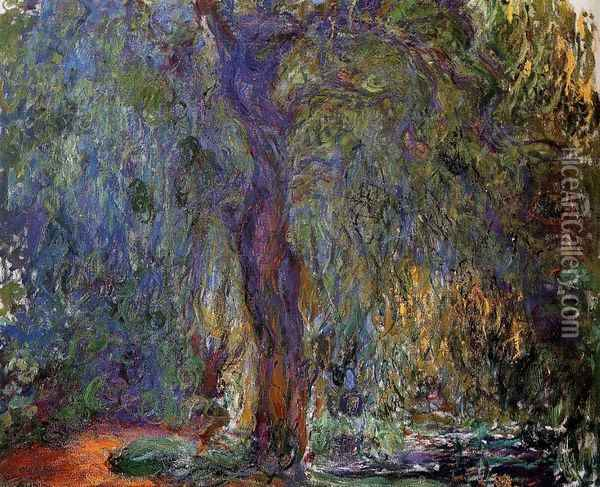 Weeping Willow IV Oil Painting - Claude Oscar Monet