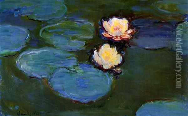 Water-Lilies Oil Painting - Claude Oscar Monet