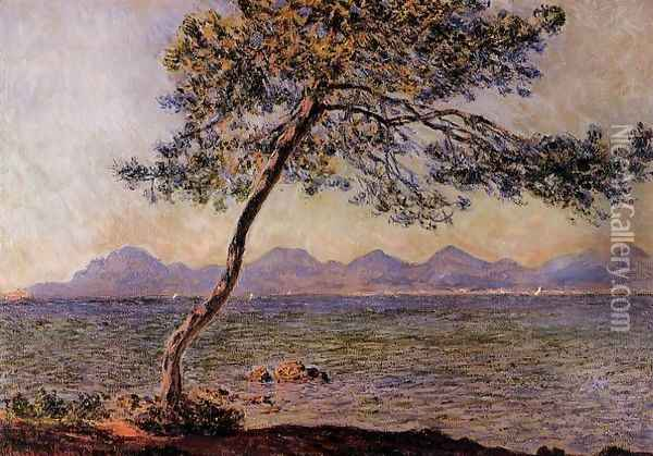 At Cap D Antibes Oil Painting - Claude Oscar Monet