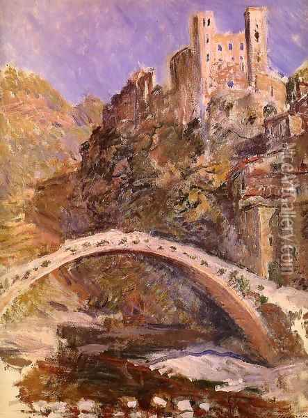 The Castle At Dolceacqua Oil Painting - Claude Oscar Monet
