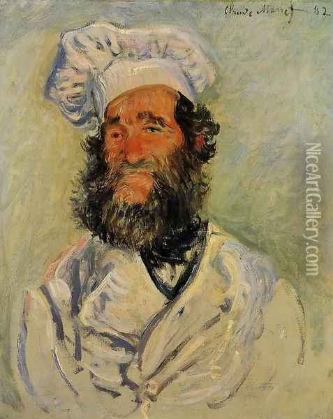 The Chef Pere Paul Oil Painting - Claude Oscar Monet