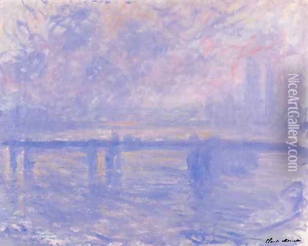 Charing Cross Bridge7 Oil Painting - Claude Oscar Monet