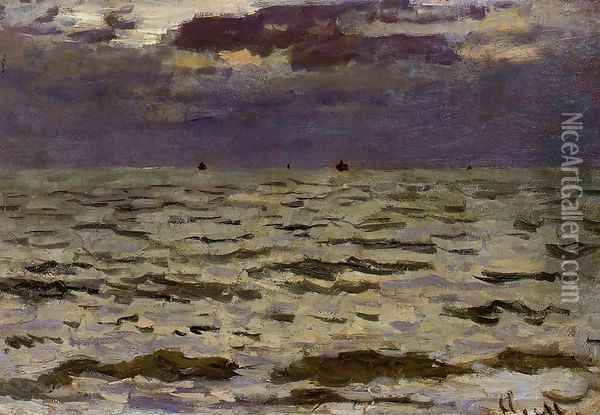 Seascape Oil Painting - Claude Oscar Monet