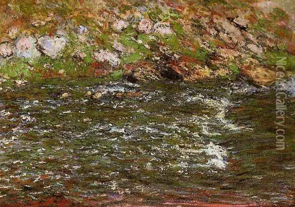 Torrent Of The Petite Creuse At Freeselines Oil Painting - Claude Oscar Monet