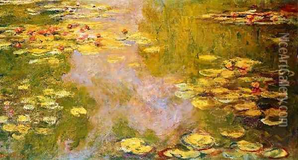 The Water Lily Pond 6 Oil Painting - Claude Oscar Monet
