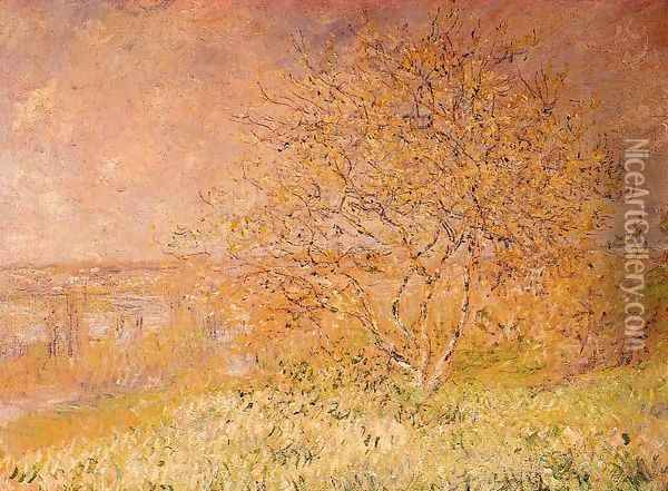 Spring Oil Painting - Claude Oscar Monet