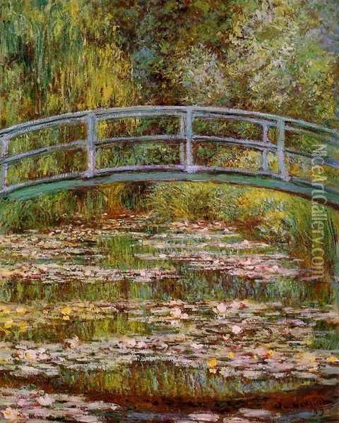 The Water-Lily Pond Oil Painting - Claude Oscar Monet