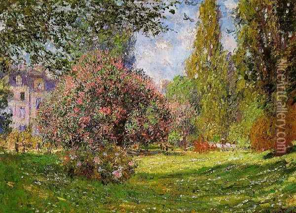 The Parc Monceau Paris Oil Painting - Claude Oscar Monet