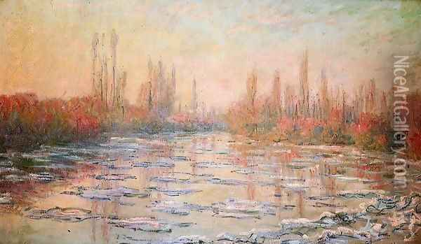 Floating Ice2 Oil Painting - Claude Oscar Monet