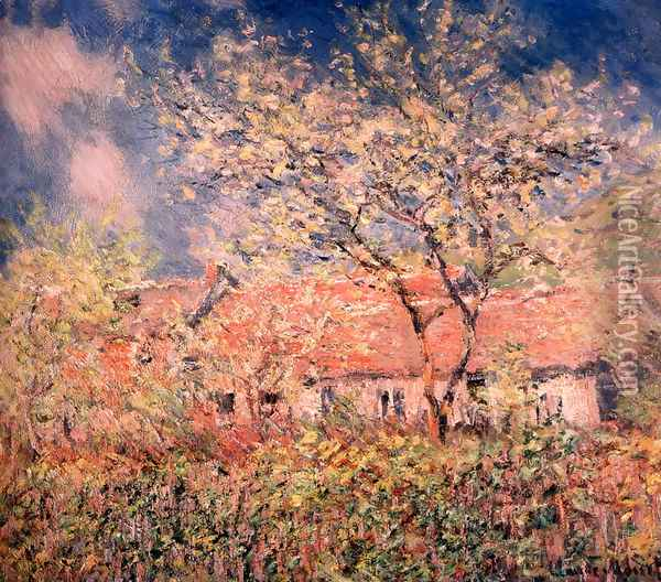 Springtime At Giverny Oil Painting - Claude Oscar Monet