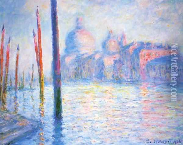 The Grand Canal3 Oil Painting - Claude Oscar Monet