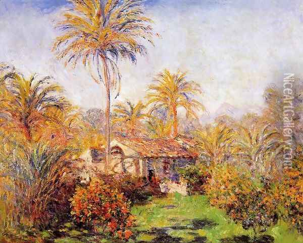 Small Country Farm In Bordighera Oil Painting - Claude Oscar Monet
