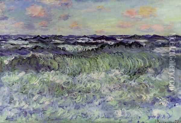 Sea Study Oil Painting - Claude Oscar Monet