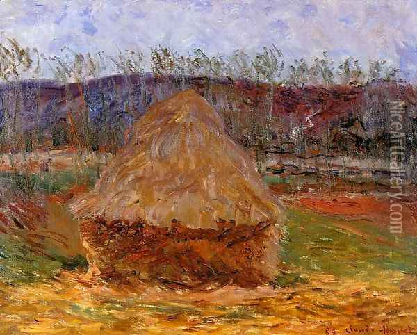 Grainstack At Giverny Oil Painting - Claude Oscar Monet