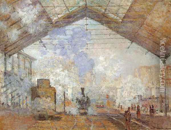 Saint-Lazare Station Oil Painting - Claude Oscar Monet