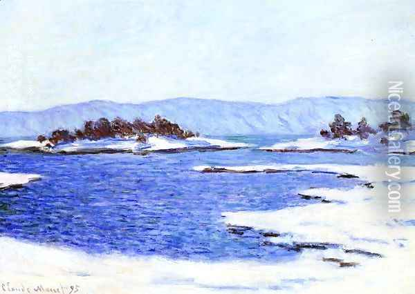 The Banks Of The Fjord At Christiania Oil Painting - Claude Oscar Monet
