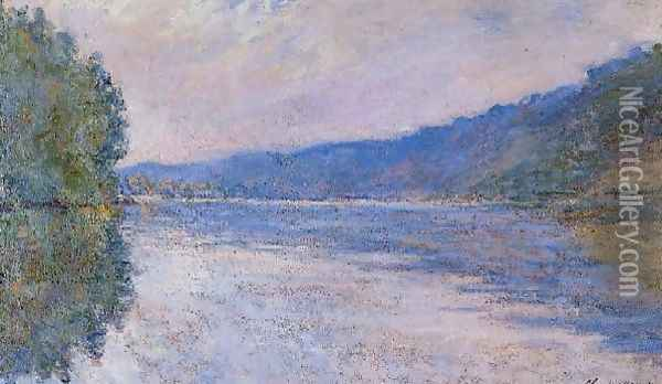 The Seine at Port-Villez Oil Painting - Claude Oscar Monet