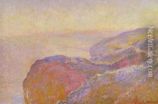 At Val Saint Nicolas Near Dieppe In The Morning Oil Painting - Claude Oscar Monet