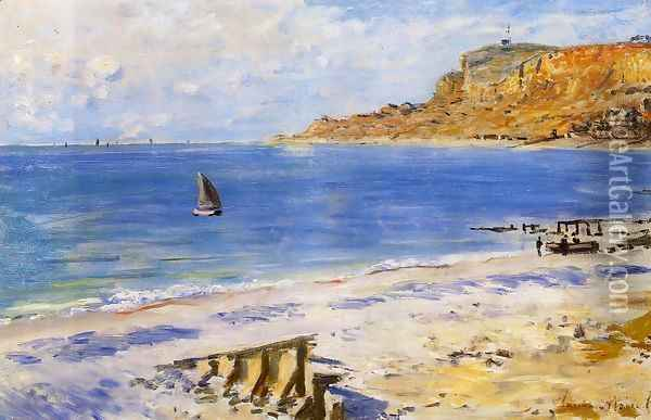 Sainte Adresse Oil Painting - Claude Oscar Monet