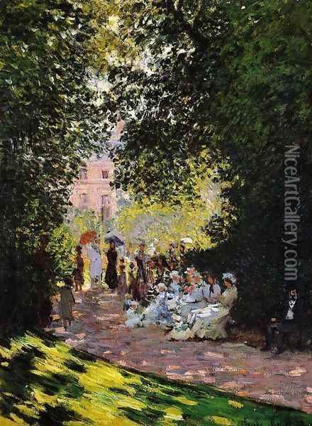 The Parc Monceau Oil Painting - Claude Oscar Monet