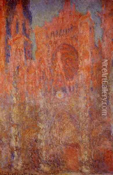 Rouen Cathedral Oil Painting - Claude Oscar Monet