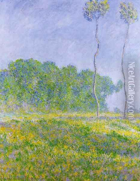 Spring Landscape Oil Painting - Claude Oscar Monet