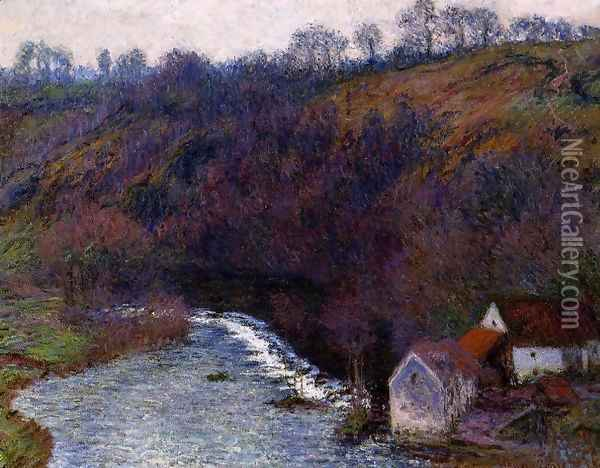 The Mill At Vervy Oil Painting - Claude Oscar Monet