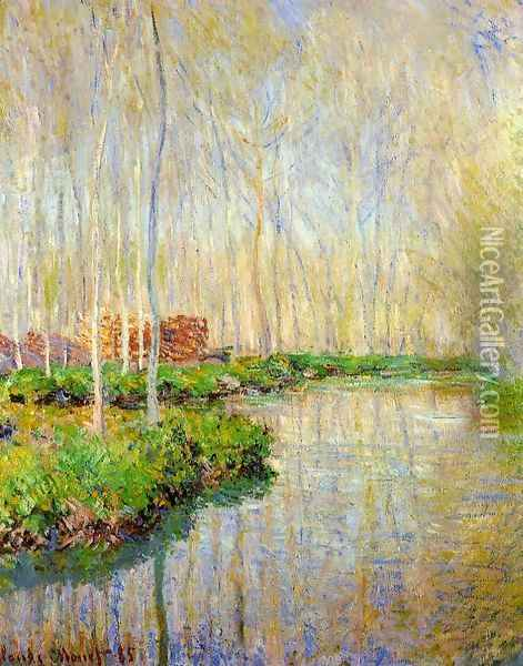 The River Epte Oil Painting - Claude Oscar Monet